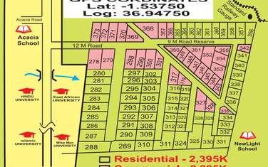 0.032 ha land for sale in Kitengela