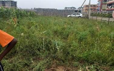 0.125 ac land for sale in Nakuru Town East