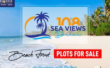 920m² land for sale in Diani