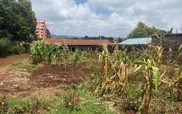 0.05 ha commercial land for sale in Kinoo