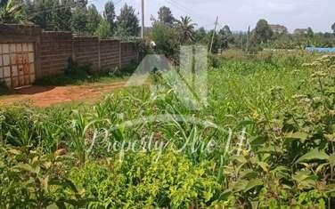 0.1 ha residential land for sale in Ndeiya