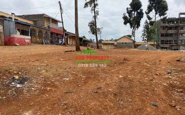 0.04 ha commercial land for sale in Kikuyu Town