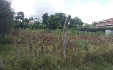 0.5 ac residential land for sale in North Muthaiga