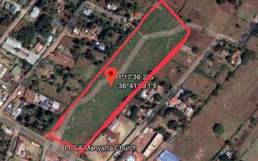 Commercial land for sale in Waithaka