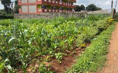 0.05 ha commercial land for sale in Kikuyu Town
