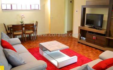Furnished 2 bedroom apartment for rent in Westlands Area