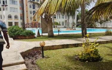Furnished 3 bedroom apartment for rent in Mkomani