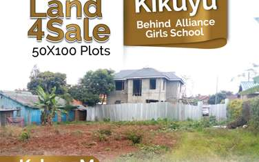 1500 m² residential land for sale in Kikuyu Town