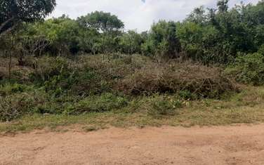 0.5 ac residential land for sale in Ukunda