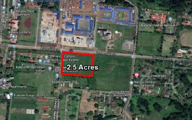 Commercial land for sale in Lower Kabete