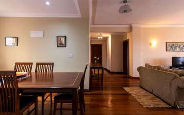 Furnished 3 bedroom apartment for rent in Upper Hill