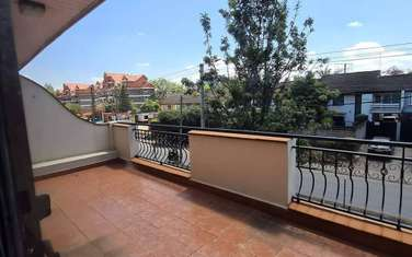 4 bedroom townhouse for rent in Kilimani