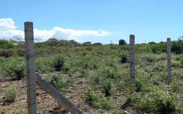 0.5 ac residential land for sale in Shanzu