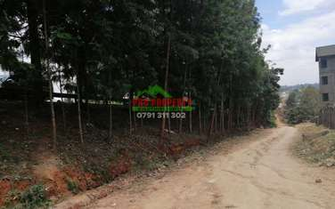 0.08 ha commercial land for sale in Kikuyu Town