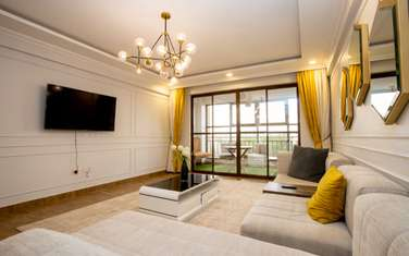 furnished 3 bedroom apartment for rent in South B