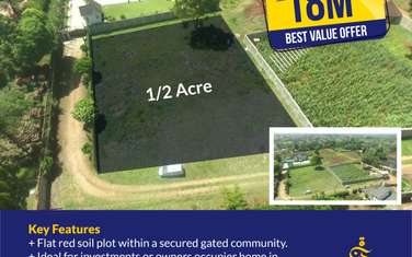 Land for sale in Thika East