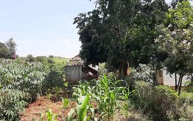 0.25 ac land for sale in Kiambaa Settled Area