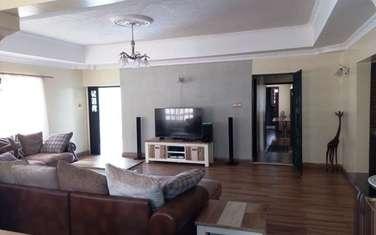 Furnished 3 bedroom house for rent in Karen