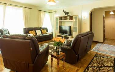 Furnished 4 bedroom apartment for rent in Lavington