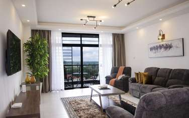 Furnished 3 bedroom apartment for rent in General Mathenge
