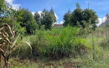 0.05 ha land for sale in Kinoo