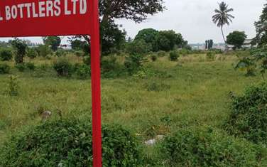 64752 m² commercial land for sale in Mtwapa