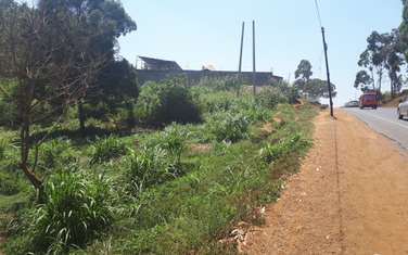 Land for sale in Kiambu Road