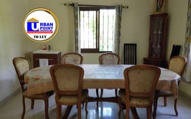 Furnished 4 bedroom house for rent in Nyali Area