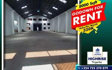 Warehouse for rent in Mombasa CBD