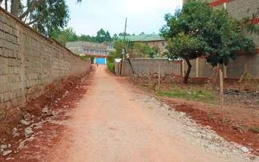 Commercial land for sale in Kiambu Road