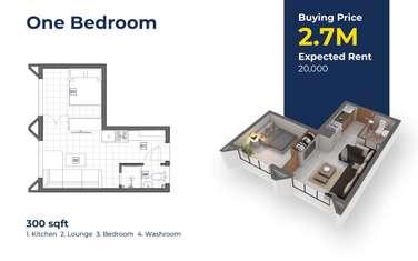 2 bedroom apartment for sale in Kiambu Town