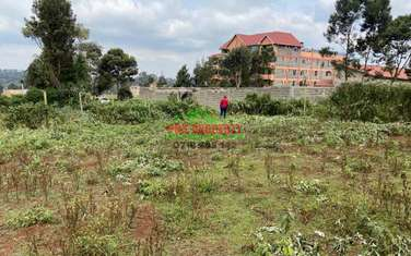 0.1 ha commercial land for sale in Limuru Area