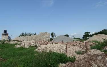0.25 ac land for sale in Ukunda