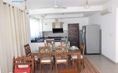 Furnished 4 bedroom villa for rent in Kikambala