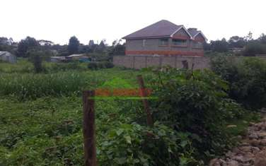 750 m² residential land for sale in Kikuyu Town