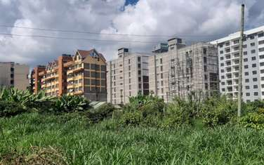 0.25 ac commercial land for sale in Ruaka