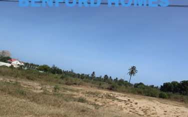 Land for sale in Mtwapa