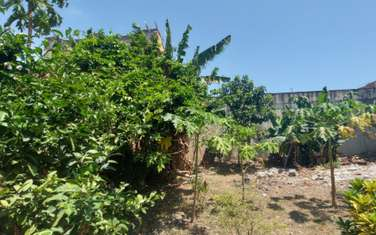 0.125 ac land for sale in Bamburi
