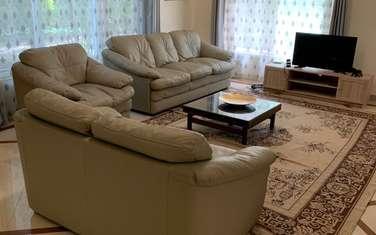 Furnished 3 bedroom villa for rent in Gigiri