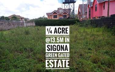 0.1 ha land for sale in Rironi