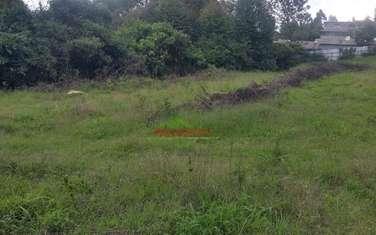 4000 m² land for sale in Kikuyu Town