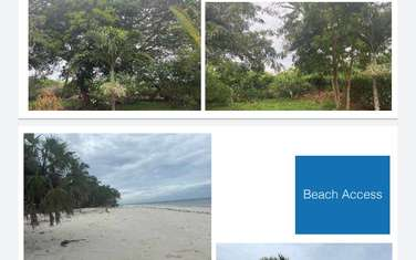 0.25 ac land for sale in Diani