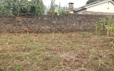 0.1359 ac land for sale in Kiambu Road
