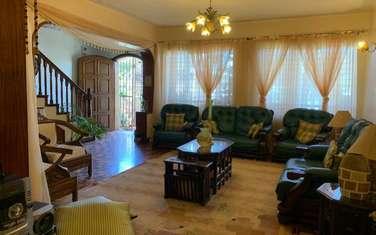 Furnished 4 bedroom townhouse for rent in Parklands