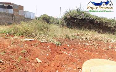 450m² residential land for sale in Thika
