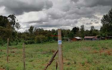 0.05 ha land for sale in Kikuyu Town