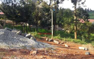 250 m² commercial land for sale in Kikuyu Town