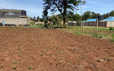 500 m² residential land for sale in Kabete Area