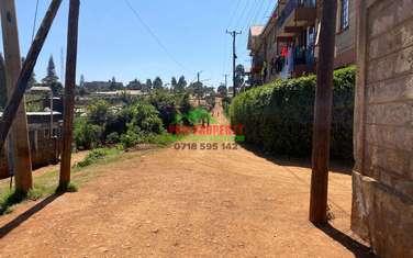0.06 ha commercial land for sale in Gikambura