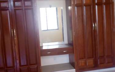 Furnished 4 bedroom apartment for rent in kizingo